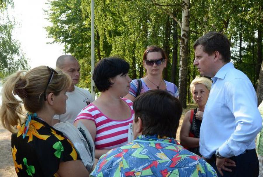 Спикер Заксобрания Тверской области встретился с беженцами из Украины