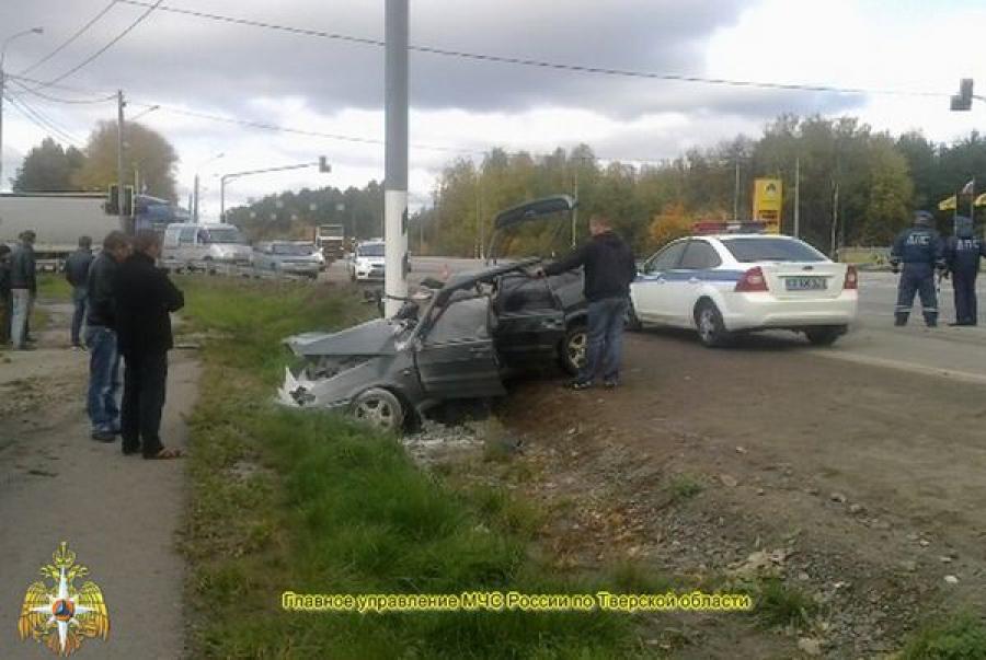 В ДТП на трассе М-10 пострадали люди