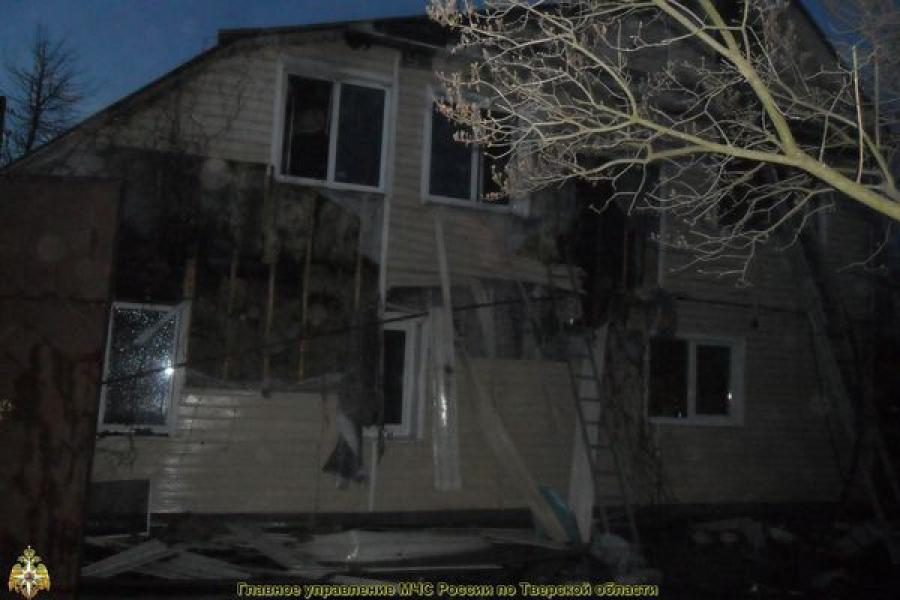 В Торжокском районе в огне погиб человек