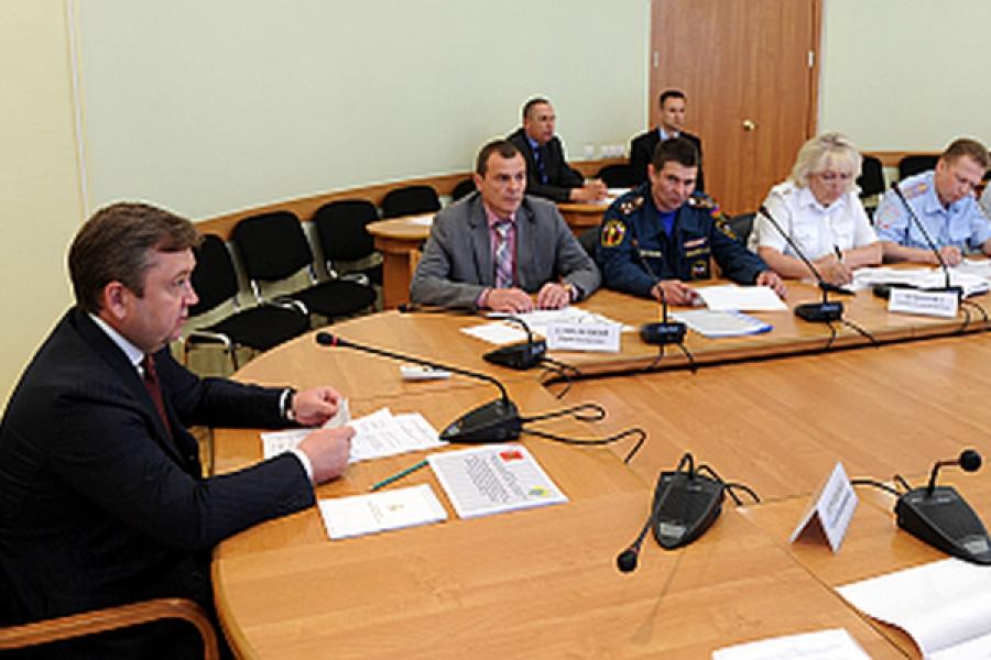 Обеспечение безопасности на дорогах Тверского региона обсудили на межведомственной комиссии