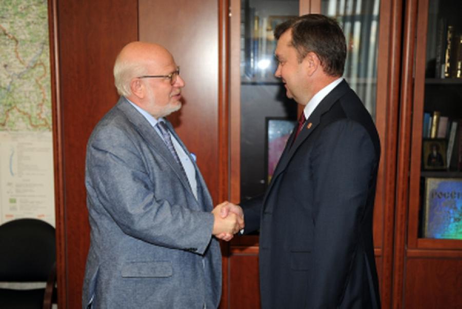 Губернатор и советник президента РФ обсудили развитие гражданского общества в Тверской области