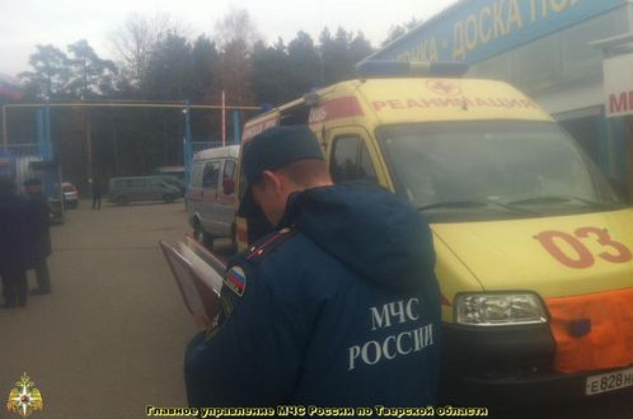 9 человек госпитализированы с отравлением угарным газом в Твери