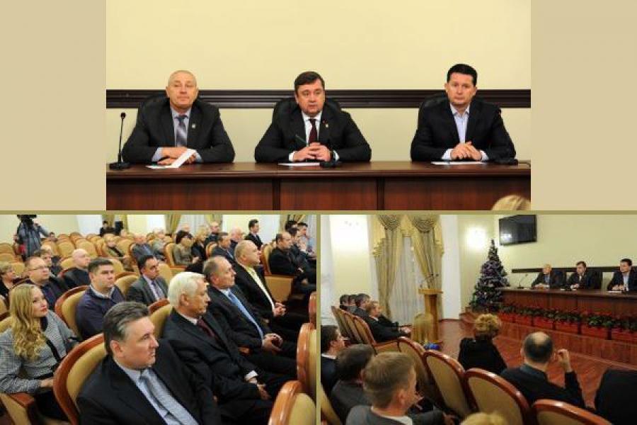 Губернатор встретился с депутатами ТГД и администрацией Твери