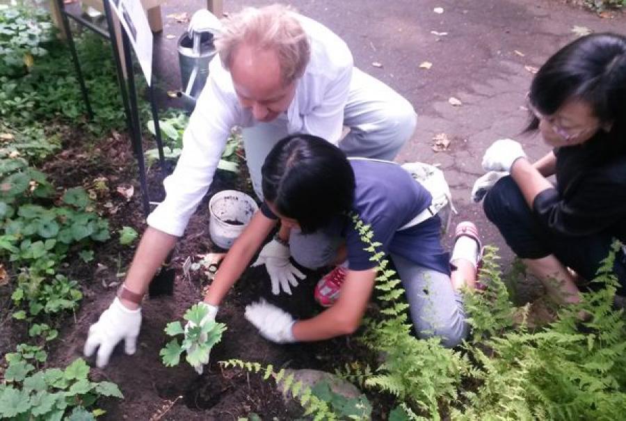 В День памяти жертв Хиросимы в тверском Ботаническом саду прошел День открытого сердца