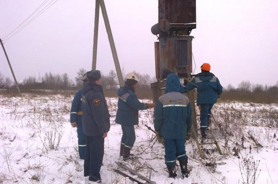 Электроснабжение в Тверской области восстанавливается