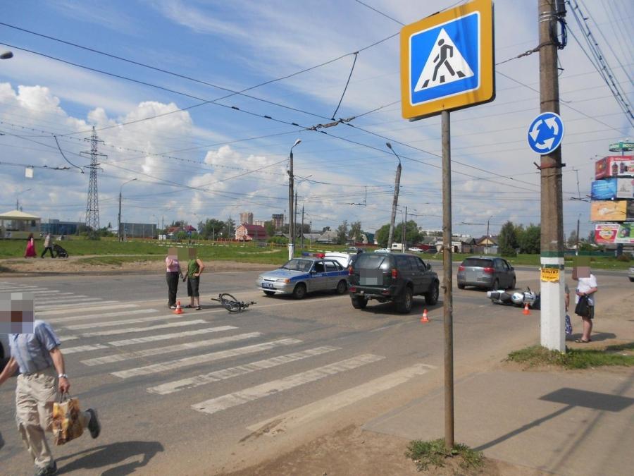 За полгода в Тверской области были сбиты 23 велосипедиста