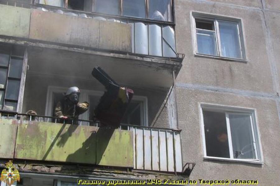 Один человек погиб на пожаре в Твери