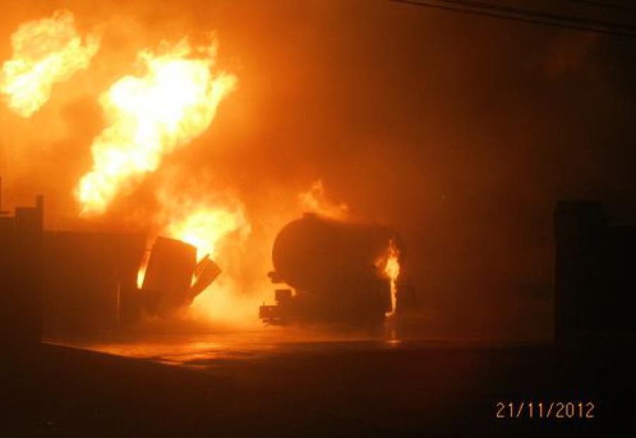 Дело водителя, чья цистерна взорвалась в «Юности» в ноябре, передано в суд