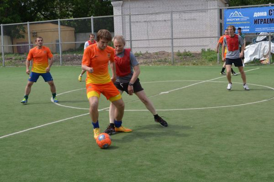 Мини-футбол популяризуют в Центральном районе Твери