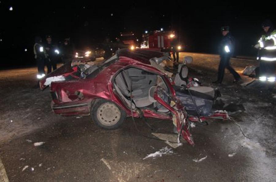 В субботу в ДТП на трассе «Балтия» погибли четыре человека