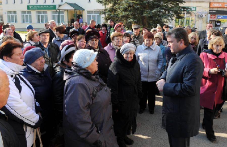 Руководству Спировского района губернатор дал время на решение актуальных вопросов
