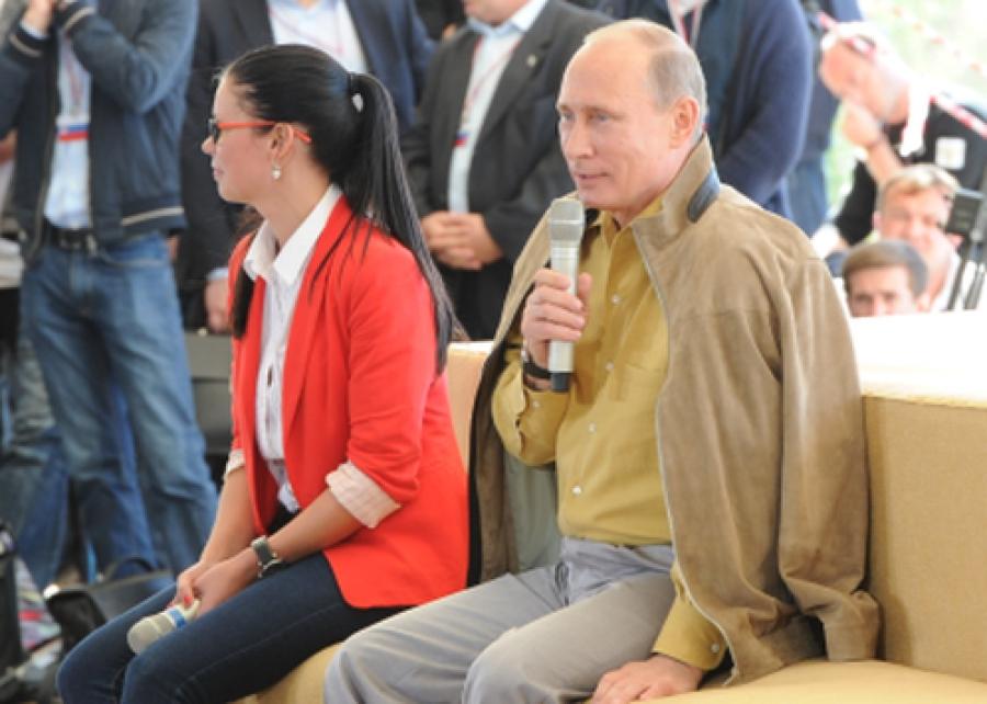 Владимир Путин пообщался с молодежью на «Селигере 2013″
