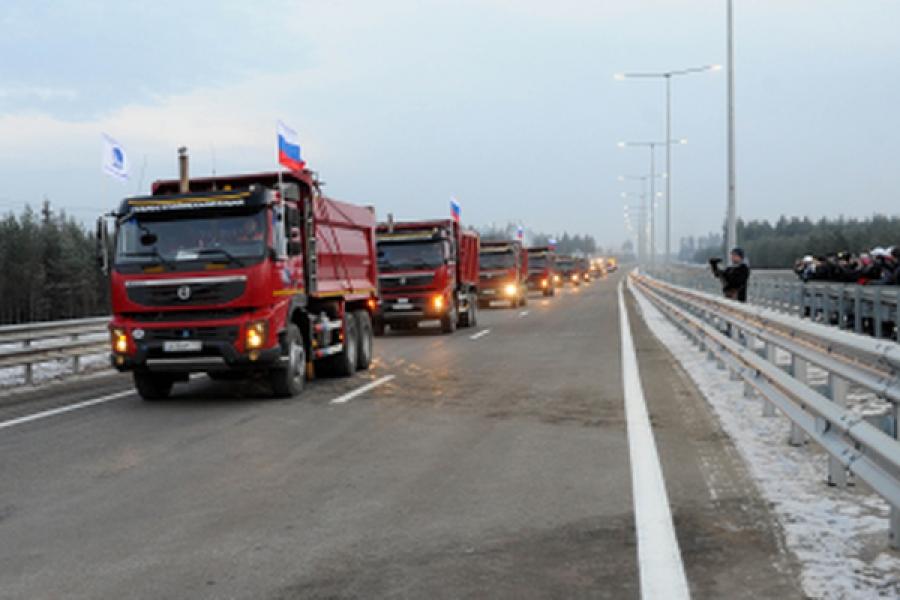 Стоимость проезда по трассе М-11 в обход Вышнего Волочка составит 1,2 рубля за километр