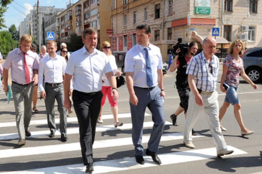 Ремонт тверских дорог, мостов и дворов оценил губернатор