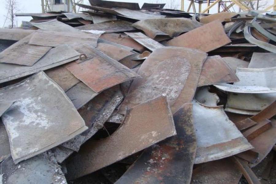 Полицейские изъяли тонну лома черных металлов