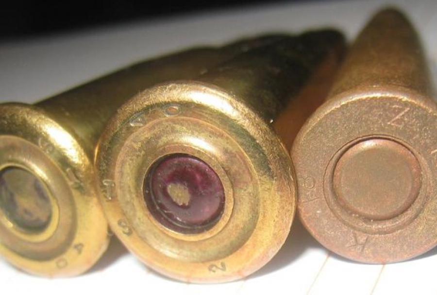 Пенсионер сдал полицейским найденные в лесу боеприпасы