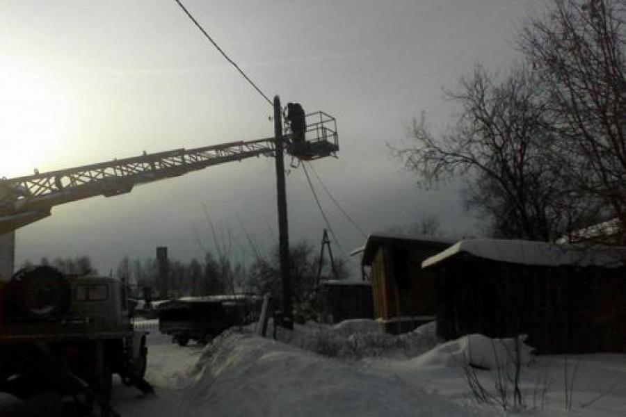 Электроснабжение в регионе пока не восстановлено