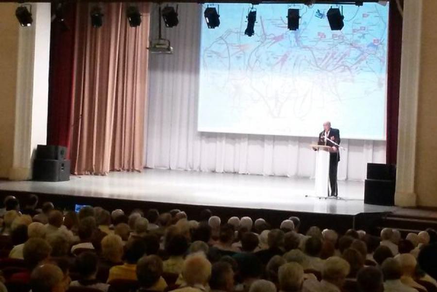 В канун 70-летия освобождения Калининской области состоялось торжественное собрание