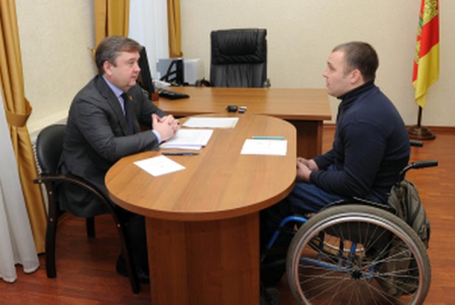 Жители региона смогли обсудить свои проблемы с губернатором на личном приёме