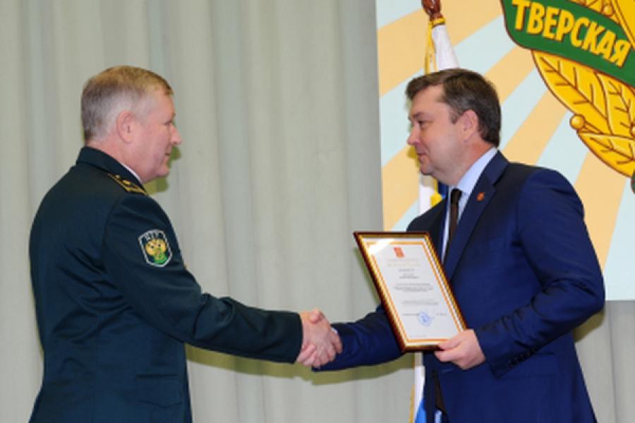 Сотрудники Тверской таможни принимают поздравления