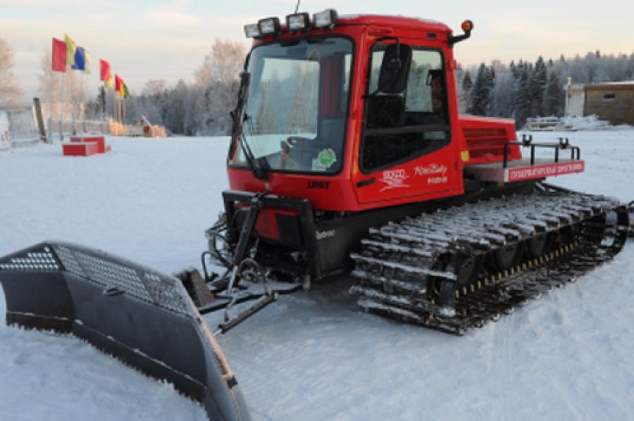 Отделение лыжных гонок КСДЮШОР №1 получили ратрак