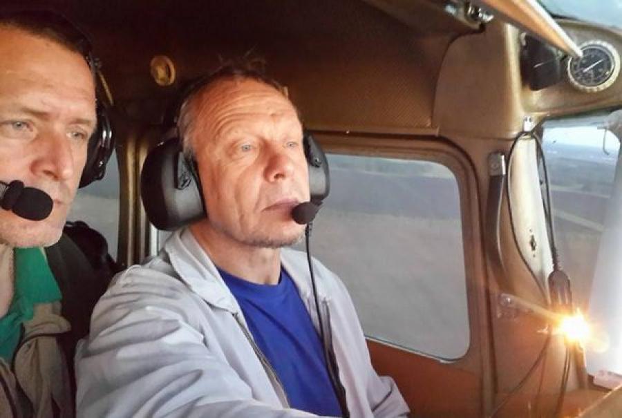 Тверитянин принимает участие в перелете «Халхин-Гол 75 лет»