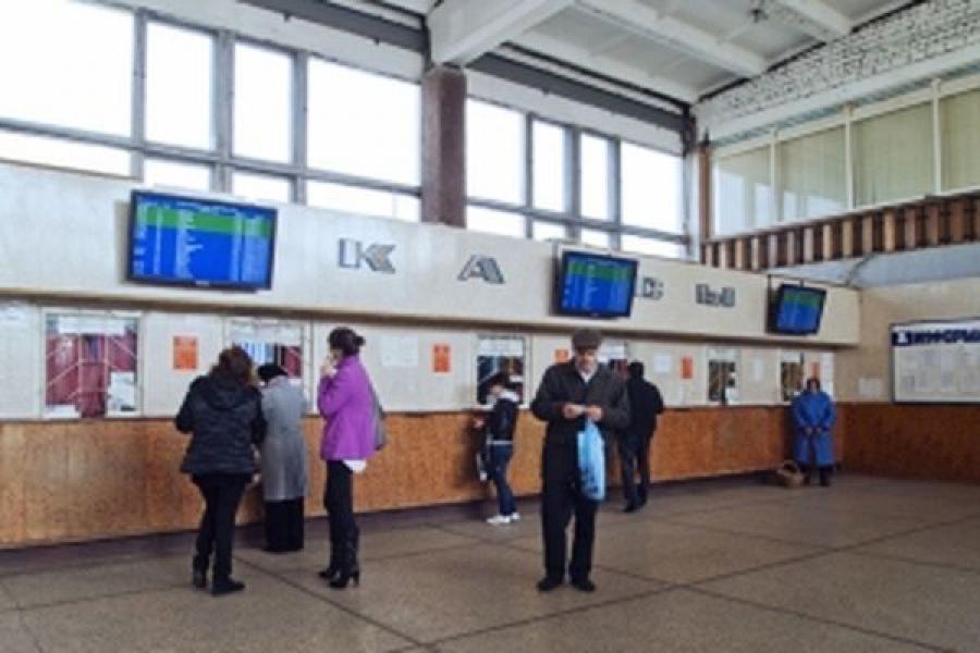 Перроннный контроль на Тверском автовокзале стал постоянным