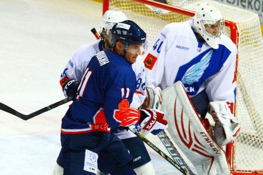 ТХК в Красноярске одержал победу над «Соколом»