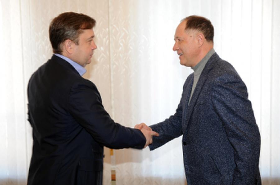 Состоялась встреча губернатора с сенатором от Тверской области Виктором Абрамовым