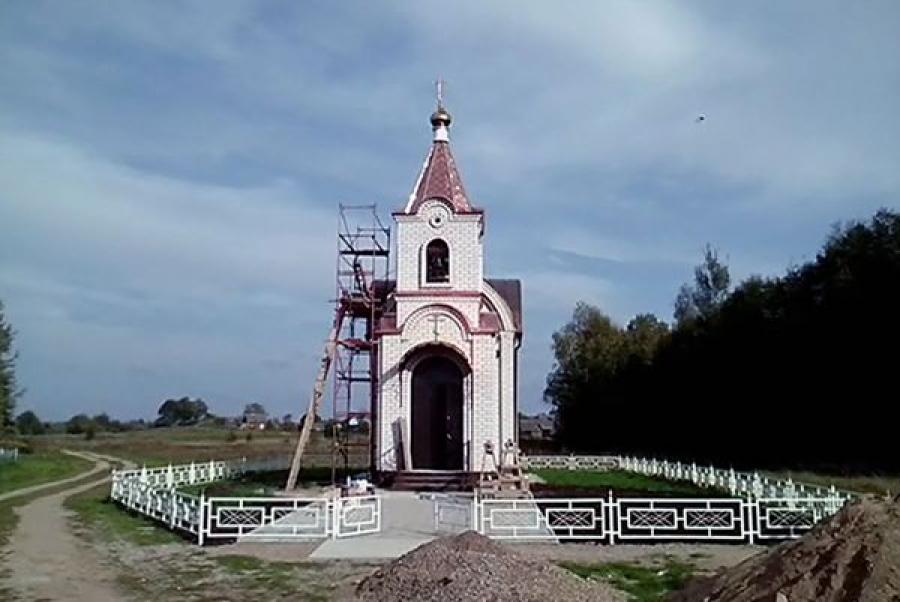 В колокола храма Николая Чудотворца звонит электронный звонарь