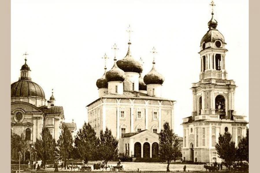 Молебен ознаменует начало строительства Спасо-Преображенского собора в Твери