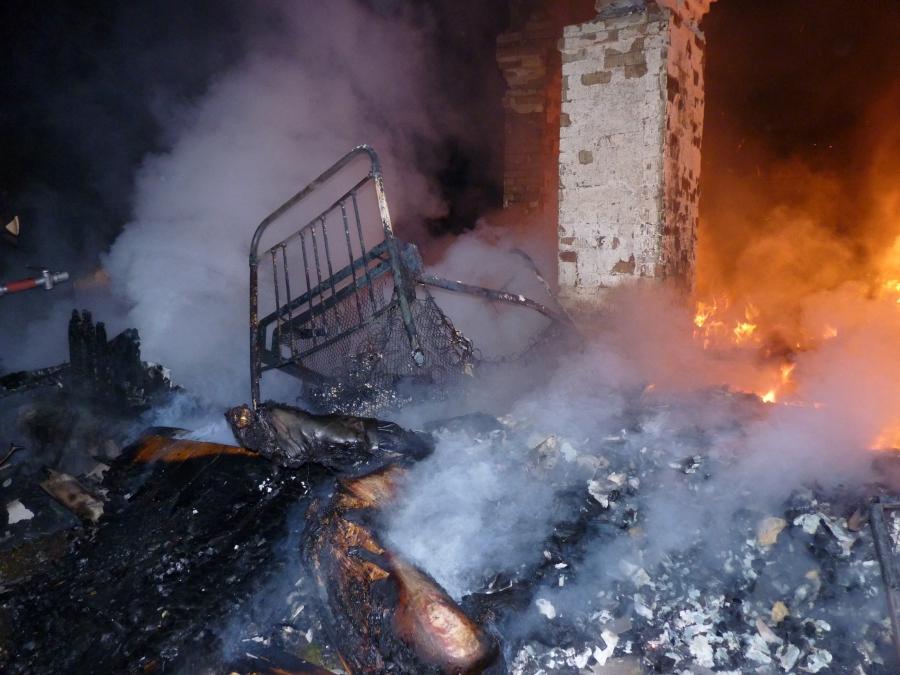 В Тверской области при пожаре погиб человек