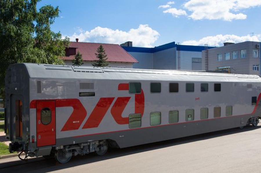 ТВЗ будет создавать новые двухэтажные штабные вагоны