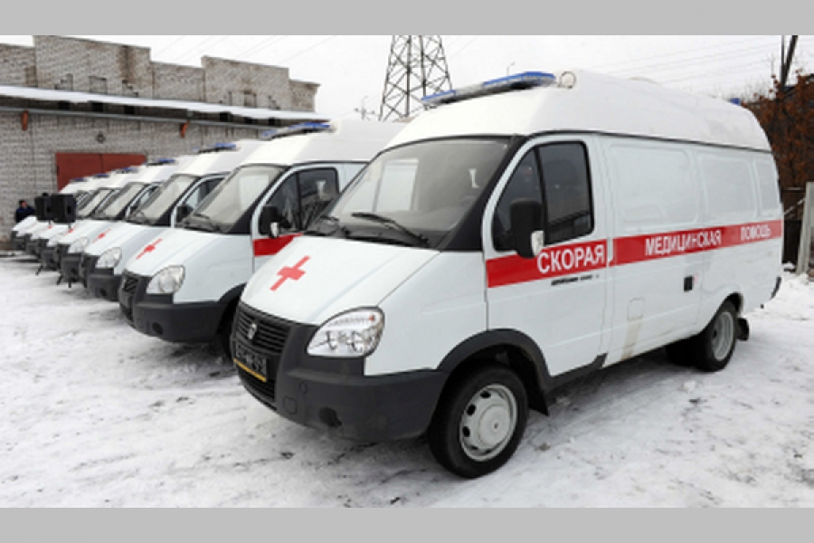 В города и районы Тверской области поступили новые машины «скорой помощи»