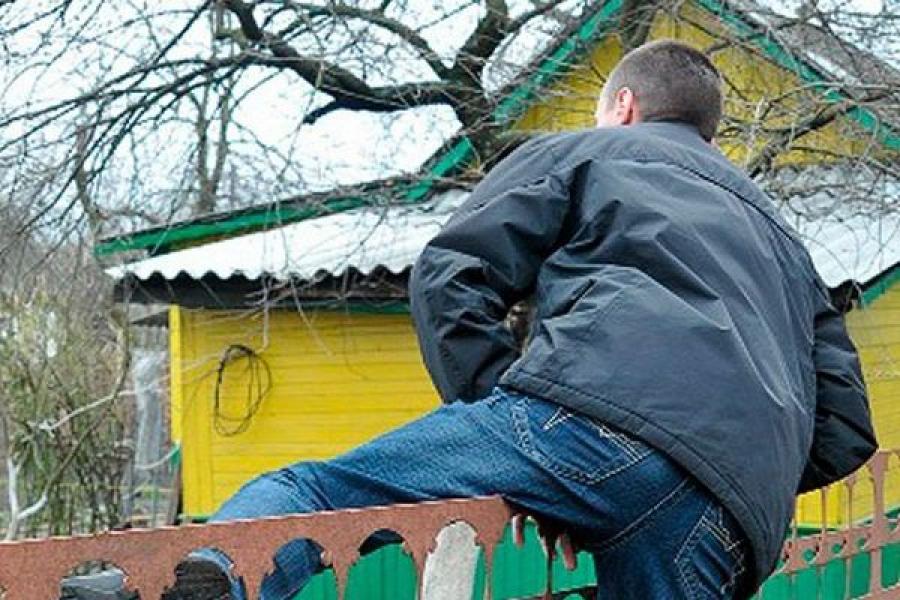 Дачные воры активизировались в Тверской области