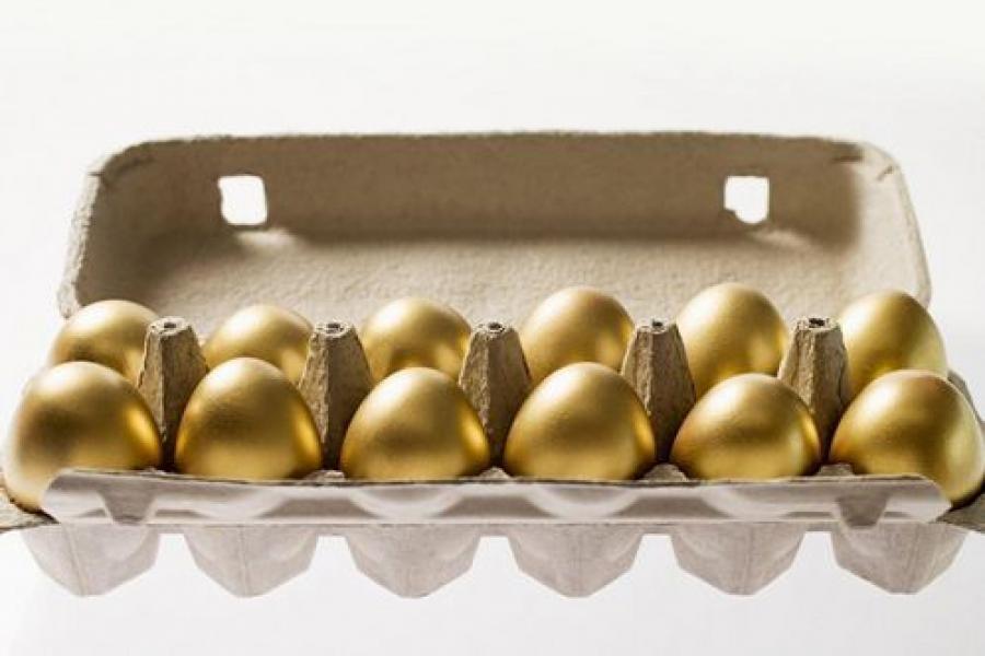 Только в Анадыре куриные яйца дороже, чем в Твери