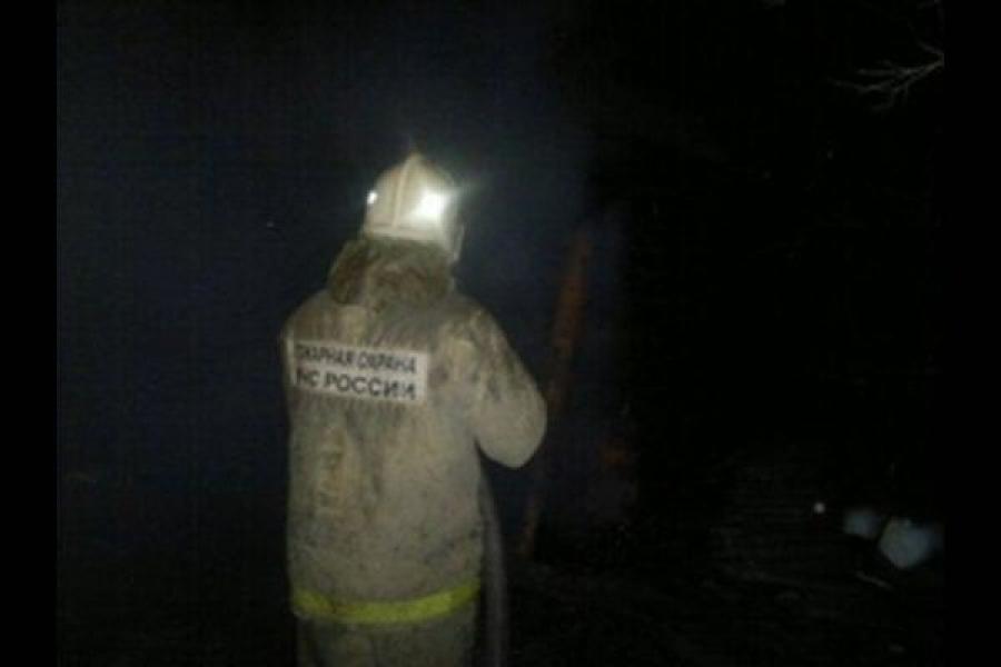 В Торжке сгорел автомобиль
