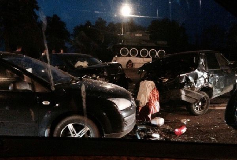 В Твери произошло ДТП с участием пяти машин