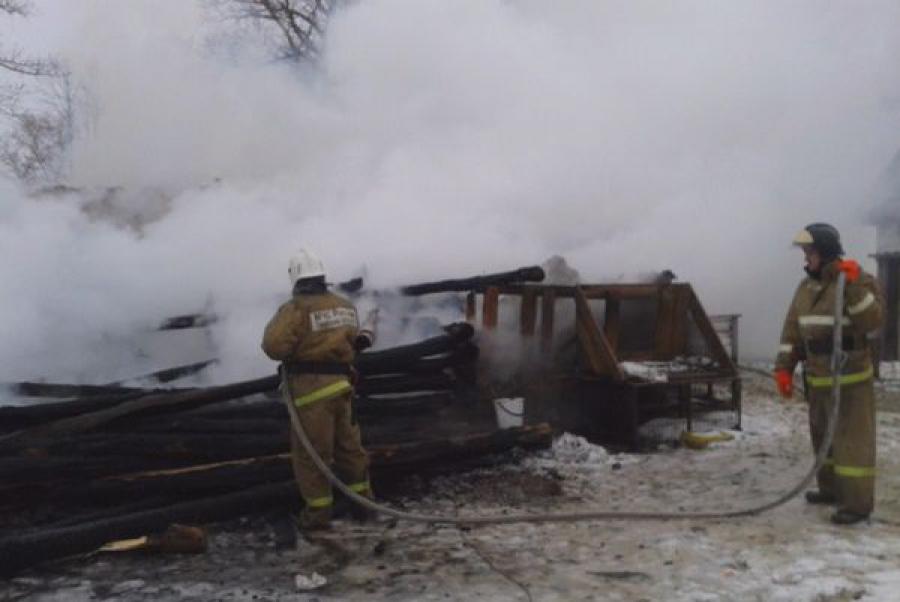 В Зубцовском районе в огне погибли люди