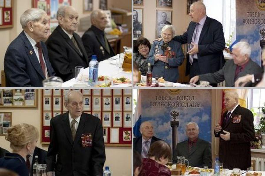 Глава Твери поздравил участницу Великой Отечественной войны с юбилеем