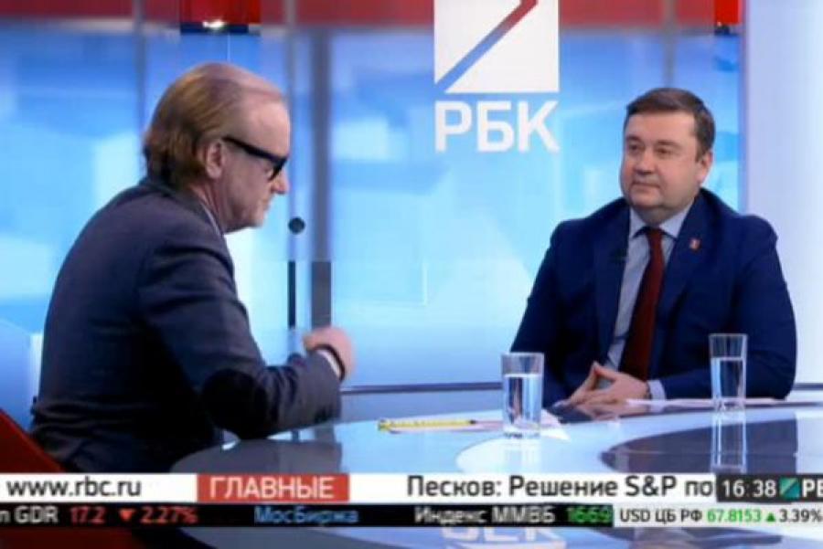 Андрей Шевелев в эфире РБК: «Не будет электропоездов – пустим дополнительные автобусы»