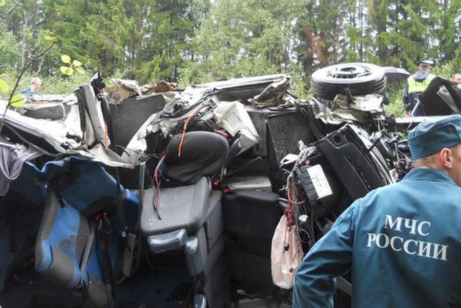 В Тверской области в ДТП погибли пассажиры рейсового автобуса