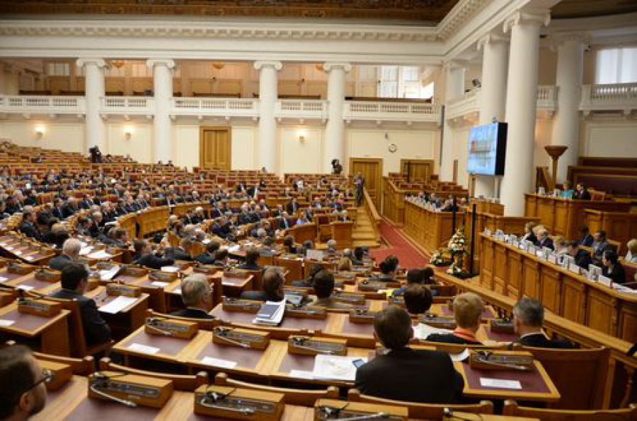 В заседании Совета законодателей РФ принял участие спикер областного парламента