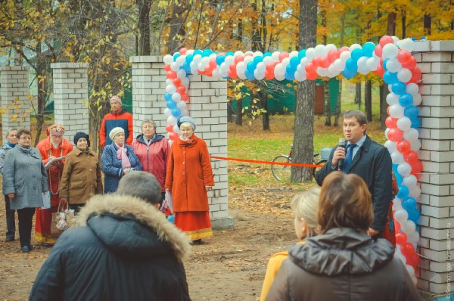 В Максатихе открылся городской парк, реконструированный при участии жителей в рамках ППМИ