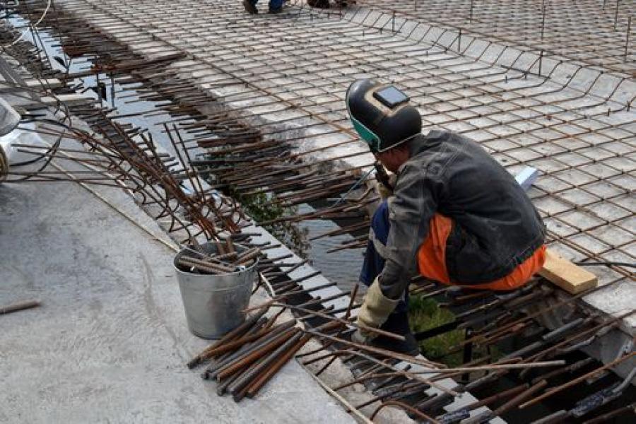 Восточный мост ремонтируют по графику и под контролем