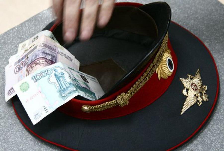Инспектор ДПС задержан за получение взятки