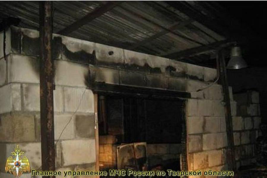 В Осташкове огонь уничтожил оборудование котельной