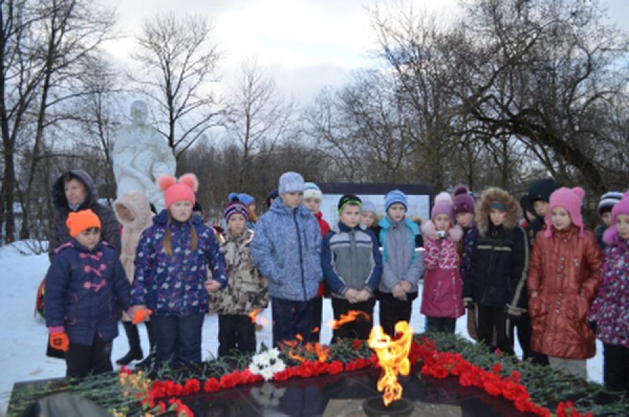 В Селижарове отметили 73-ю годовщину освобождения поселка и района от фашистов