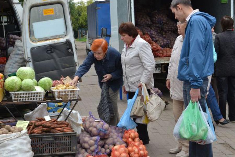 Количество продовольственных ярмарок в Твери планируется увеличить