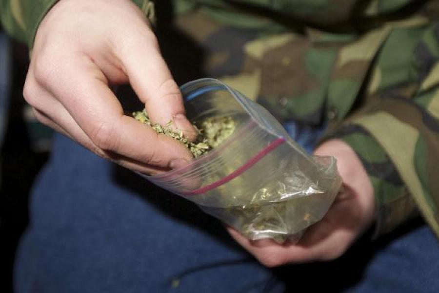 Житель Торжка хранил дома более килограмма марихуаны